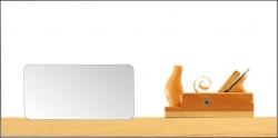 Briefhüllen für Holz-Handwerker. Motiv: Hobel.