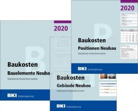 BKI Baukosten Neubau 2020. 3 Bände - Gesamtpaket mit Abo-Service.