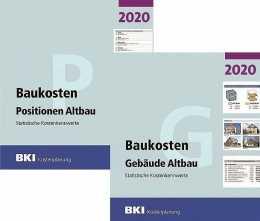 BKI Baukosten Altbau 2020 - Kombi Gebäude + Positionen. Mit ABO-Service!