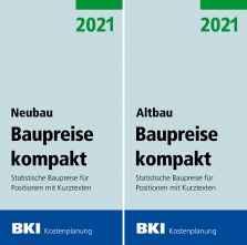 BKI Baupreise kompakt Altbau/Neubau 2021.