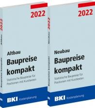 BKI Baupreise kompakt Altbau/Neubau 2022. Mit ABO-Service!