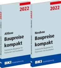 BKI Baupreise kompakt Altbau/Neubau 2022.