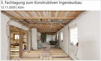 Konstruktiver Ingenieurbau: Bauen im Bestand