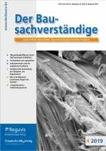 Der Bausachverständige. Zeitschrift. Jahres-Abonnement.