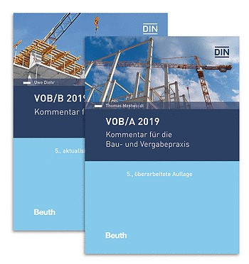 Kommentar VOB/A + VOB/B 2019