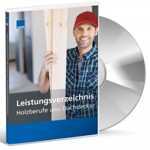 Leistungsverzeichnis Holzberufe und Dachdecker.