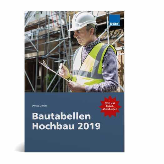 Bautabellen Hochbau 2019