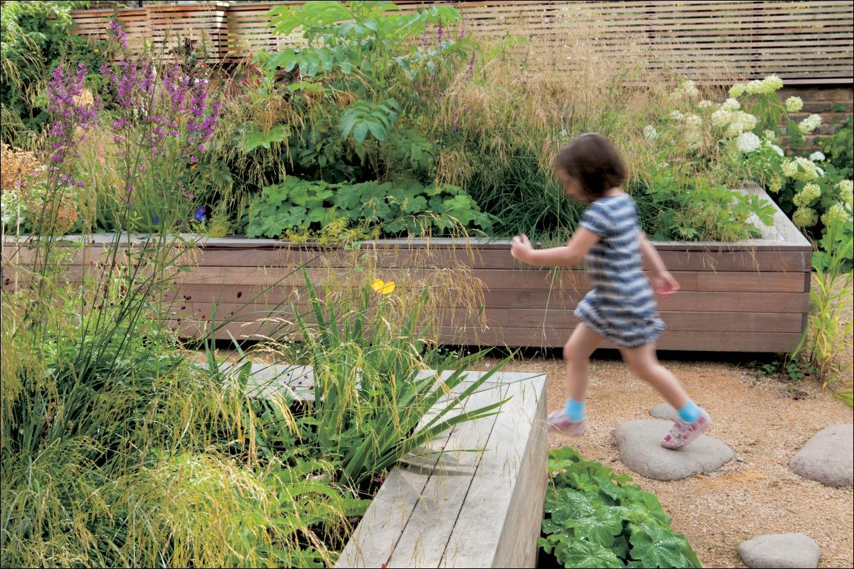 gartengestaltung mit hochbeet | medienservice holzhandwerk, Garten Ideen