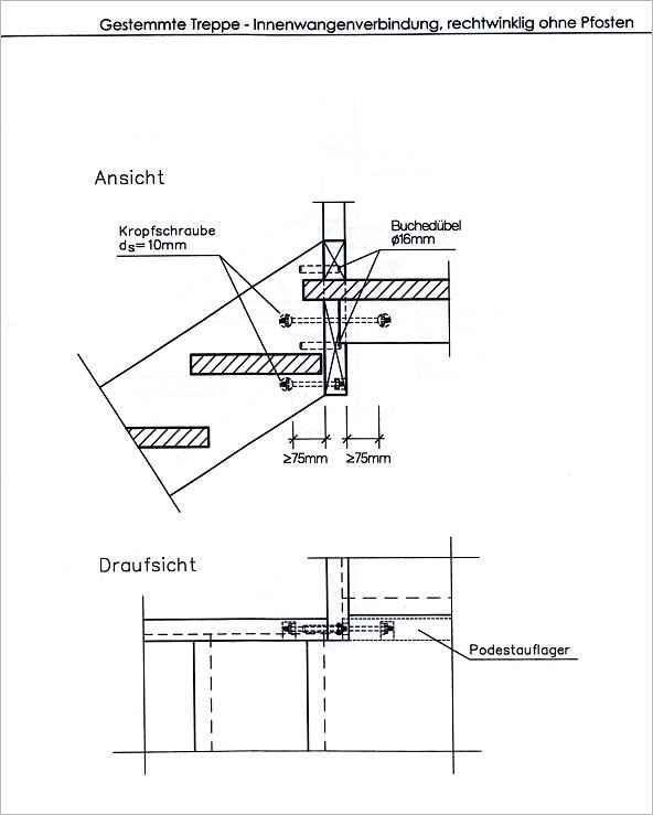 handwerkliche holztreppen regelwerk holztreppenbau medienservice holzhandwerk. Black Bedroom Furniture Sets. Home Design Ideas