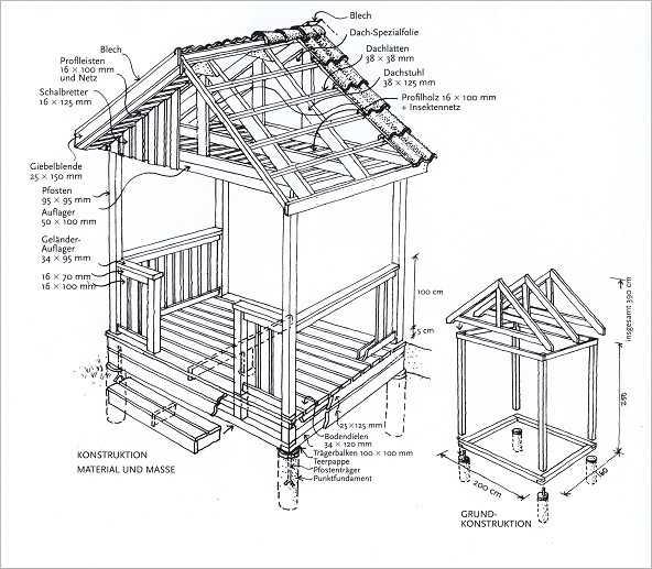 holz spielhaus zum selber bauen – bvrao, Moderne
