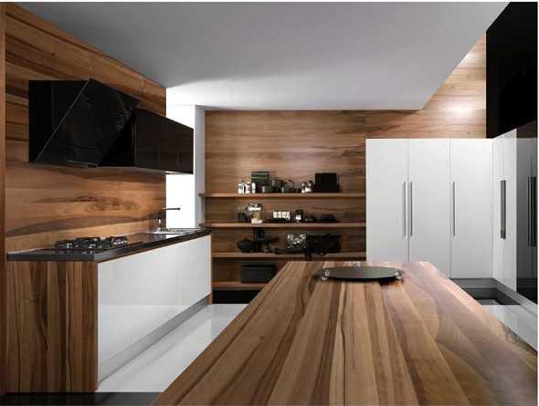 Moderne Holzküchen ~ Dekoration, Inspiration Innenraum und Möbel Ideen | {Moderne holzküchen 9}