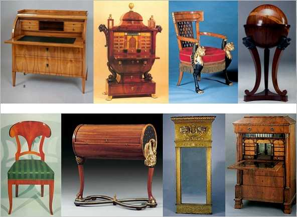 biedermeier m bel medienservice holzhandwerk. Black Bedroom Furniture Sets. Home Design Ideas