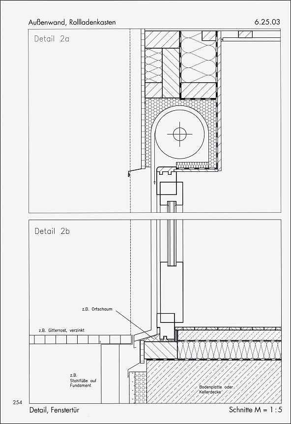holzrahmenbau details fenster. Black Bedroom Furniture Sets. Home Design Ideas