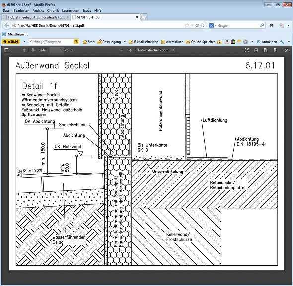 Holzrahmenbau details fenster  Holzrahmenbau-Details. CD-ROM. | Medienservice Holzhandwerk