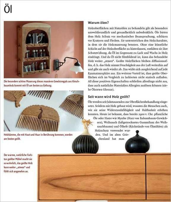 holzhandwerk oberfl chen behandeln. Black Bedroom Furniture Sets. Home Design Ideas
