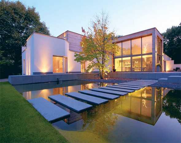 Moderne gartenarchitektur medienservice holzhandwerk - Gartenarchitektur software ...