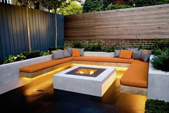 sitzecke garten design – airfax, Gartengestaltung