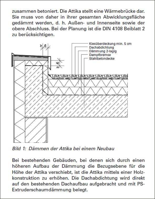 Holzbau flachdach detail  Das Baustellenhandbuch für die Ausführung nach EnEV 2014/2016 ...